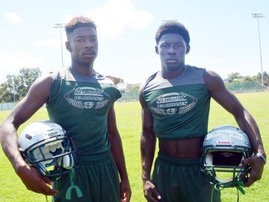 Sadrick Kirklin (left) and Eriel Dorsey