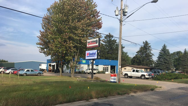 Team Matthews Auto & Tire Center is planning an expansion for their location at 1521 Post Road in Plover.
