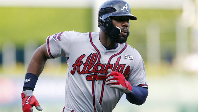 Jason Heyward has spent all five of his big-league seasons with the Braves.