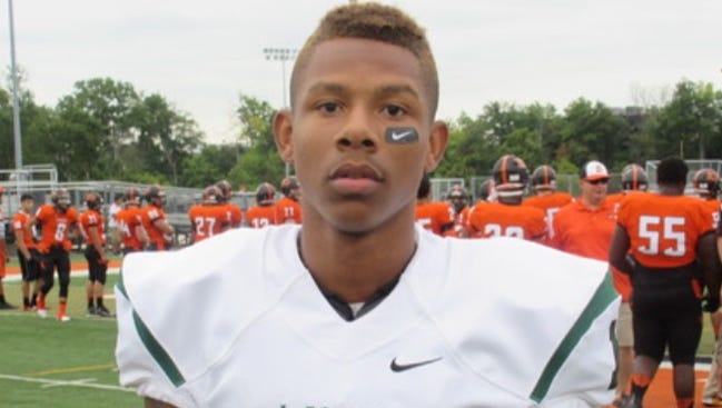 West Bloomfield wide receiver Trishton Jackson