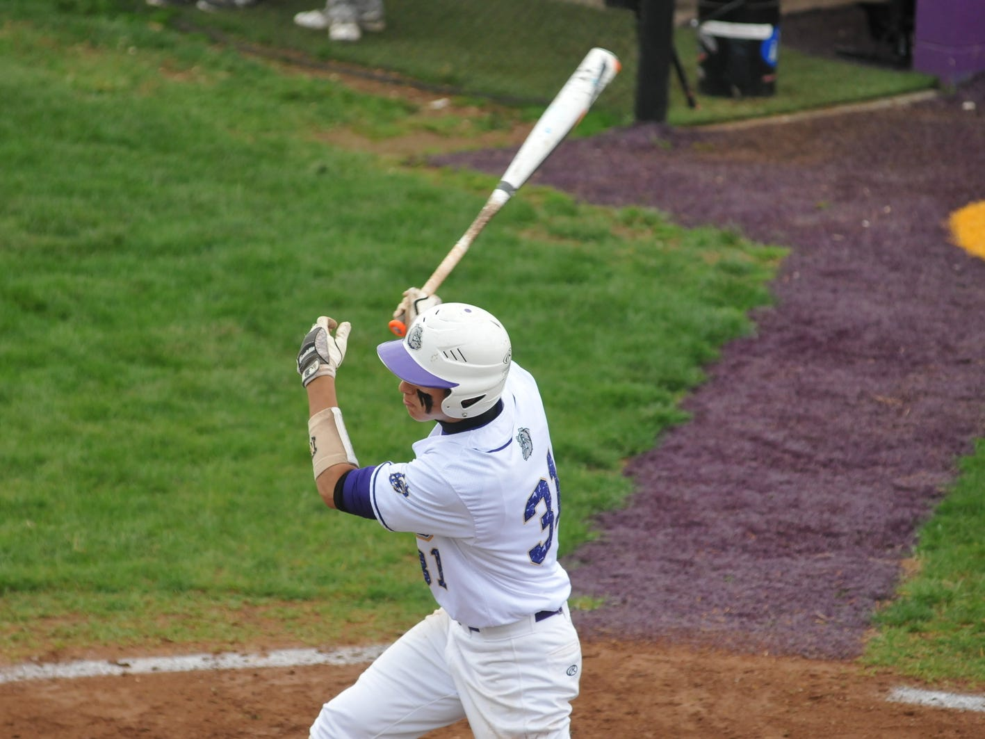 Roger Danison hits an RBI single in the bottom of the fifth. Bloom-Carroll turned a big fourth inning into a big victory Thursday over Fairfield Union in Carroll.