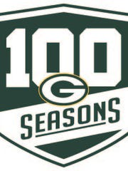 Green Bay Packers 100th anniversary logo