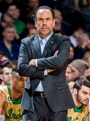 Notre Dame coach Mike Brey said the move from the Big East to the ACC three years ago was beneficial to the Irish and appealing to him.