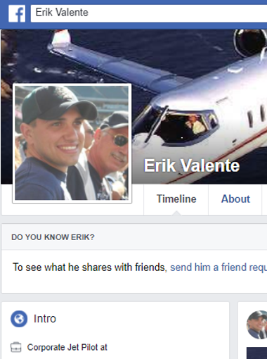 Erik Valente was certified as an airline transport pilot and worked part time as an instructor for All in Aviation, a Cirrus flight school based in Las Vegas.