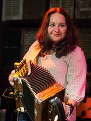 Kristi Guillory (accordion, vocals)A child prodigy of the Cajun accordion in the early 1990s, Guillory has been playing since the age of 10. Her extensive knowledge of French and poetry has helped her become a top songwriter. Guillory serves as an instructor in the traditional music program at UL Lafayette.
