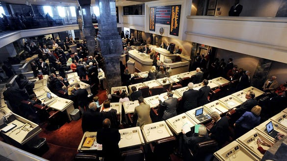 House passes abortion bill; opponents sing, protest in chamber