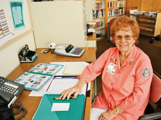Patsy Miller has served as a volunteer for the Gila Regional Medical Center Auxiliary since 1993. Courtesy Photo