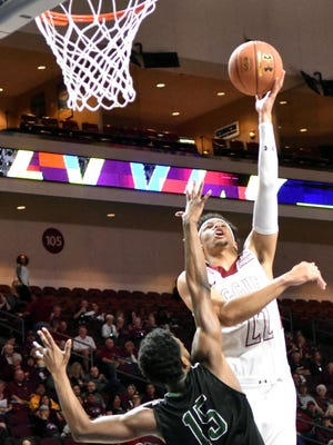 Eli Chuha and the New Mexico State Aggies face Baylor in the NCAA Tournament on Friday in Tulsa, Okla.