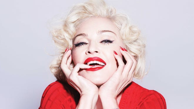 """The CD cover of the album """"Rebel Heart,"""" the latest release by Madonna."""