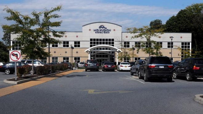 This Mid Hudson Medical Group office building is located on Columbia Street in the City of Poughkeepsie.
