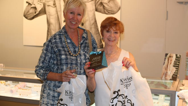 Four shoppers will win a Downtown Stuart shopping spree. Tickets will be on sale to win two deluxe Downtown Stuart gift baskets or a Yeti Cooler, courtesy of The Mainsail Company.