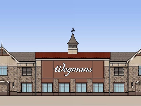 An artist rendition of what Wegmans is expected to
