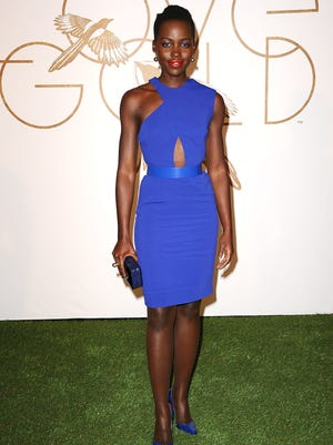 Lupita Nyong'o is honored by LoveGold at Chateau Marmont on Feb. 26, 2014 in Los Angeles.
