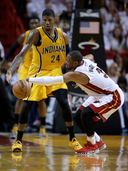 INI Pacers sider Zak Wade