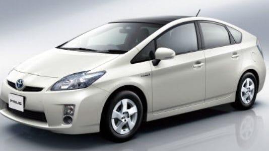 Toyota's Prius hybrid car.