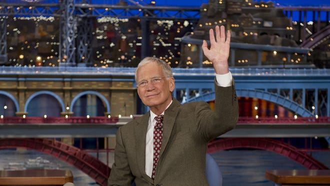 David Letterman will retire Wednesday.