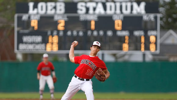 Chandler Ferguson of Lafayette Jeff with the delivery