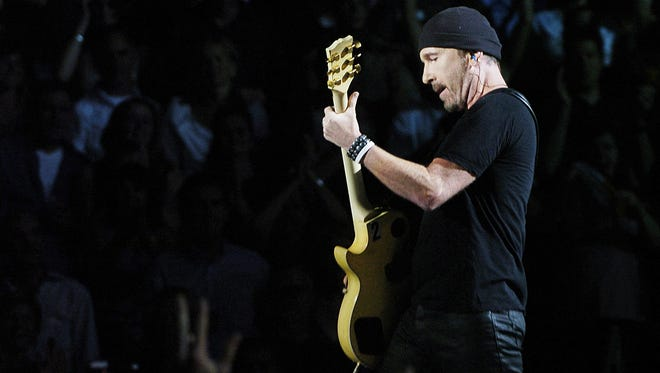 The Edge will perform with U2 Sept. 10 at Lucas Oil Stadium.