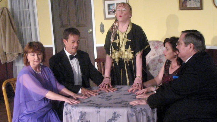 'Blithe Spirit' is a ghostly comedy