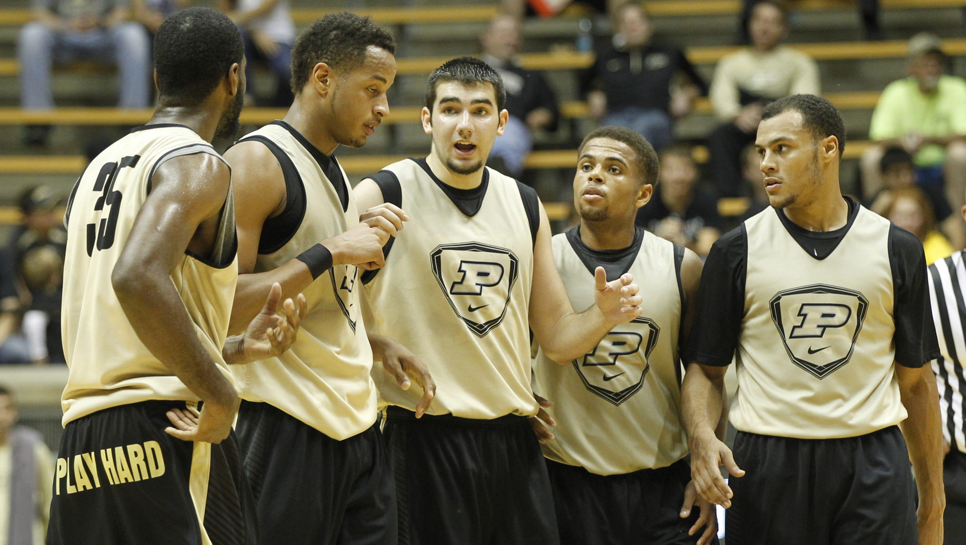 2014 15 Kentucky Wildcats Men S Basketball Team: Meet The 2014-15 Purdue Men's Basketball Team