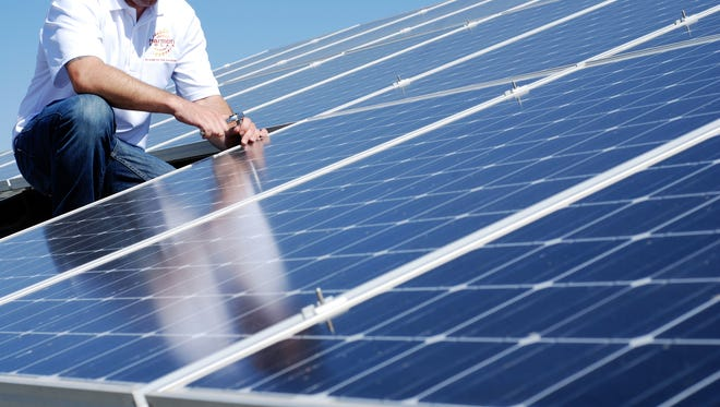 Arizona's solar industry is second only to California's in the United States.