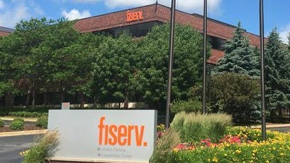 Third-quarter profits increased 8.4% for the Brookfield-based financial technology company Fiserv Inc.