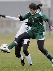 Bri Widmer helped D.C. Everest capture the WIAA Division 1 state girls soccer title last spring