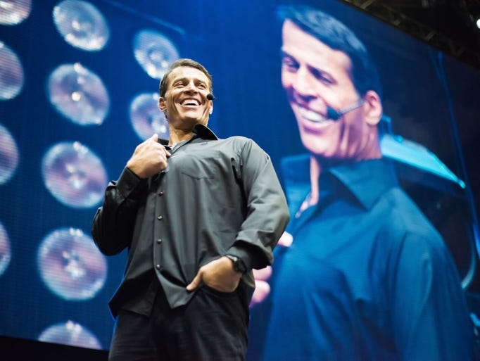 Tony Robbins has brought his inspirational expertise