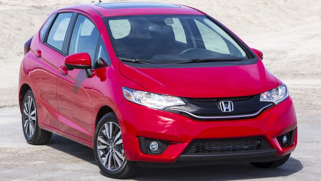 The curves on the 2015 Honda Fit EX have grown edgier and more dynamic. Prices start at $15,525.