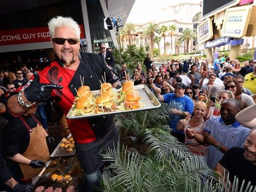 Guy Fieri Kitchen Las Vegas Menu
