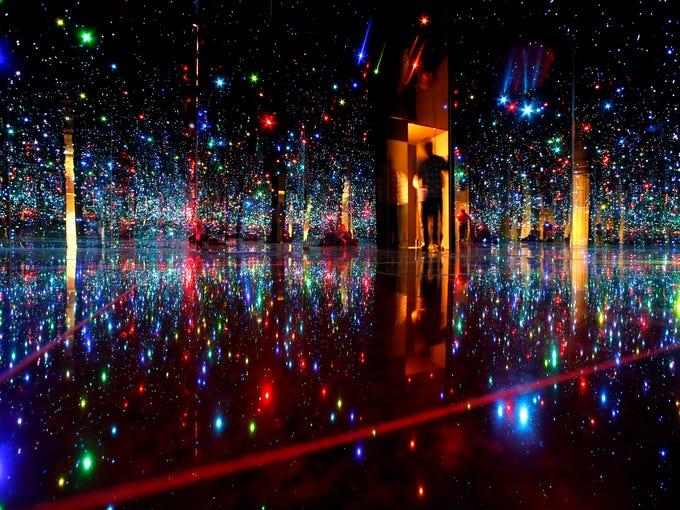 """Yayoi Kusama's """"You Who Are Getting Obliterated in"""