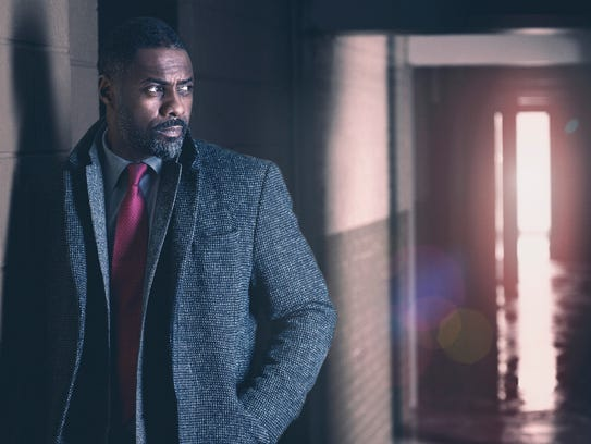 Idris Elba as DCI John Luther in 'Luther.'