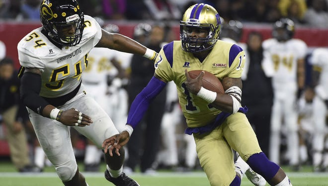 Quarterback Lenorris Footman and his Alcorn State teammates will play in a few high-profile SWAC games this fall.