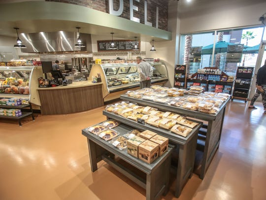 The new Greens International Market in Rancho Mirage offers a full deli and juice bar. Photo taken on Wednesday, December 14, 2016.