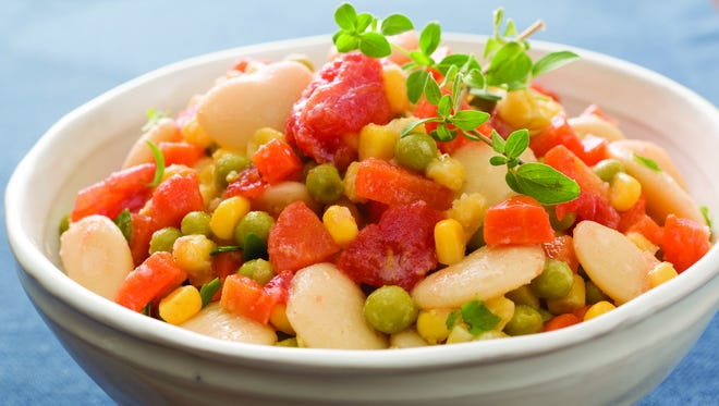 Sothern Style Succotash with Sweet Corn Sauce