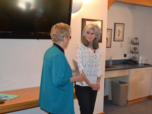Chamber award Ann Spence