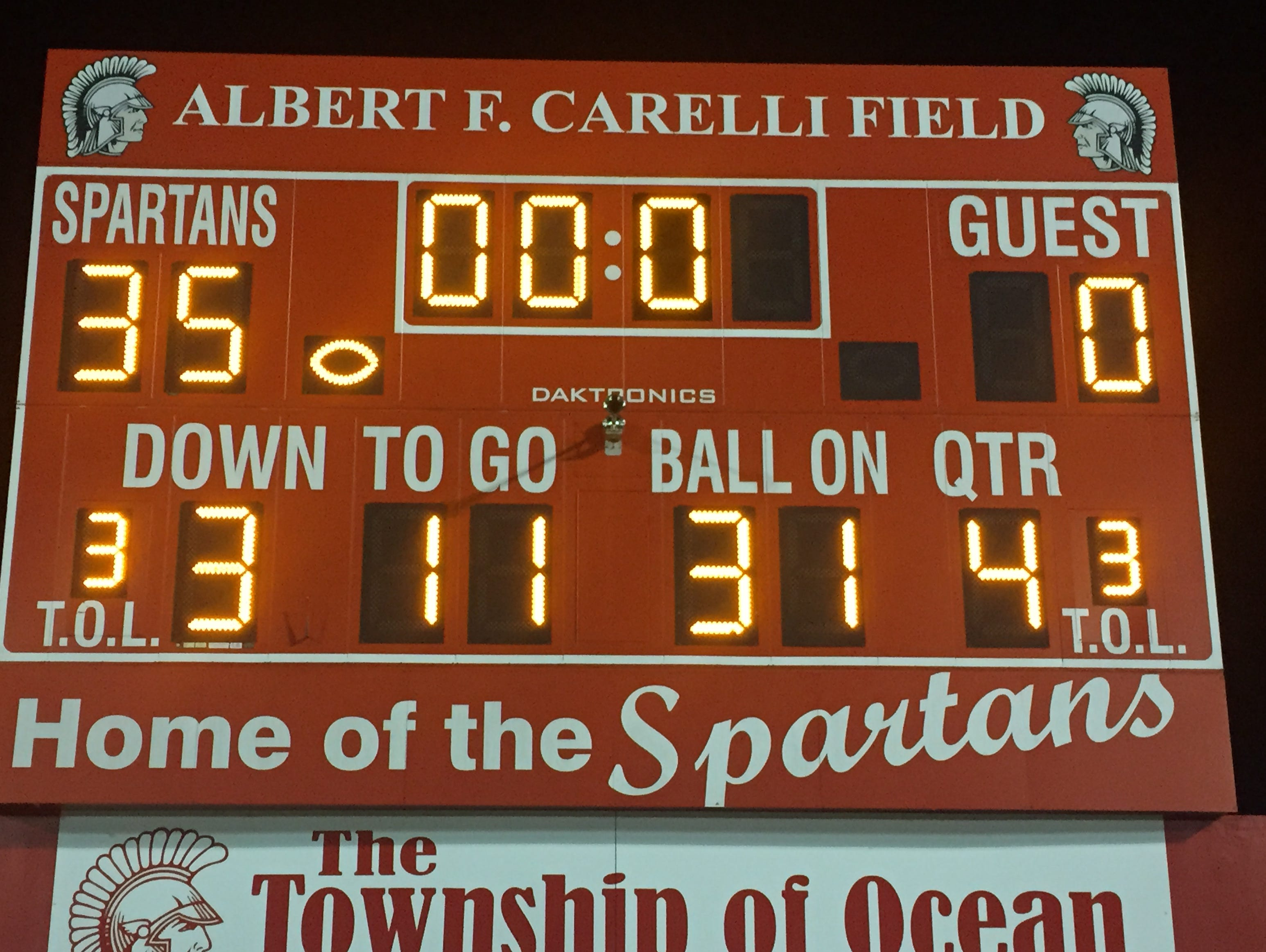 Ocean dominated Hamilton West in an opening round Central Group III clash Friday night.