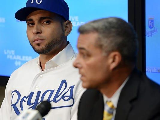 Royals Infante Baseball
