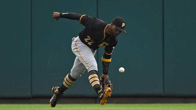 Andrew McCutchen saw his defensive metrics drop considerably in 2016, when he also stole a career-low six bases.