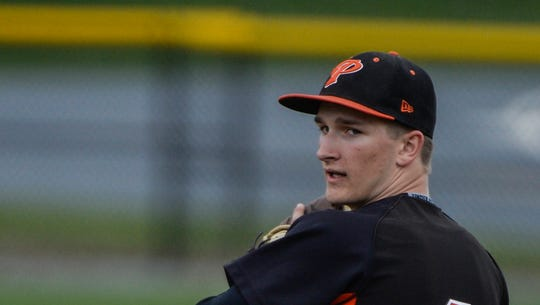 Palmyra senior Zach Yingst is scheduled to start Thursday's