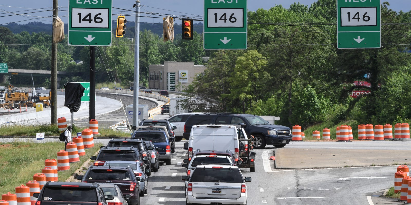 Traffic is increasing, but Woodruff Road growth not slowing down