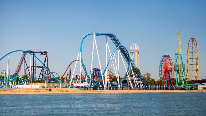 Many Monroe County residents visit Cedar Point in Sandusky, Ohio.