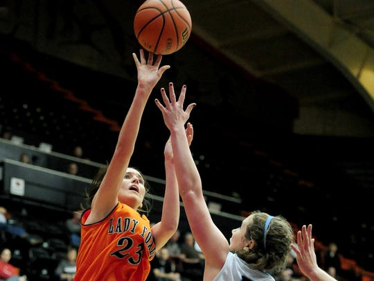 Silverton's Alia Parsons (left) is a nominee for the McDonald's All-American game.