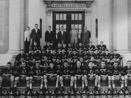 The 1960 Red Bank Catholic team was unbeaten and untied, a year after the only blemishes on the Caseys' record were a pair of ties.