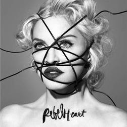 "Album cover for ""Rebel Heart"" by Madonna"