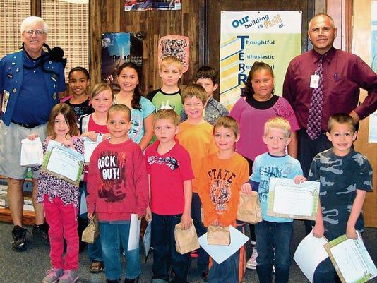 High Rolls Elementary BUG winners