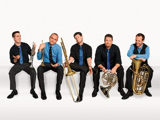 Presidio Brass will perform at 7 p.m. on Thursday in the Fine Arts Theater on the WNMU campus. Courtesy Photo