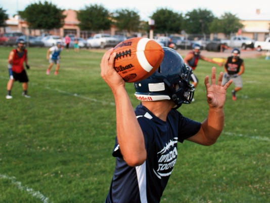 Deming High head football coach Fernie Holguin said it's been a solid first week of two-a-day practices and he encourages the public to come out to the annual Wildcat Golf Scramble on Saturday morning and meet the coaches and players.