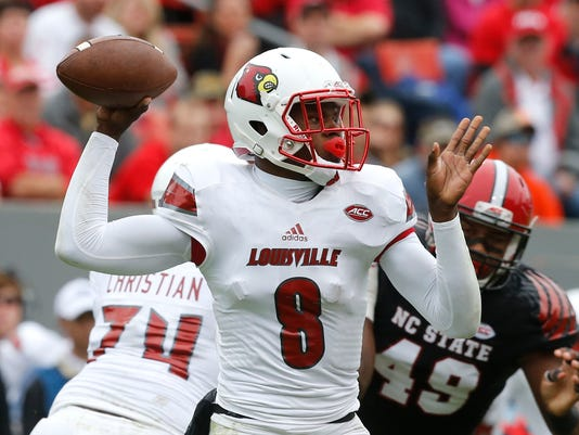 Louisville NC State Football