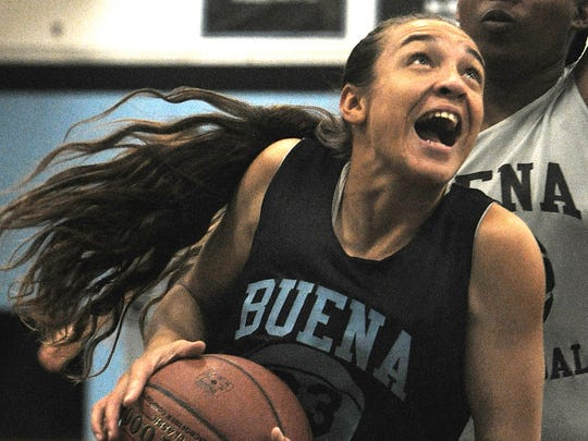 "Senior guard Skyler Ramos was the MVP of Buena's tournament earlier in the month. The Bulldogs are just three wins from becoming the first California girls basketball program to reach 1,000. ""It's a big deal,"" says Ramos."